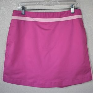 adidas Stretch Hot Pink Tennis/ Golf Skorts sz 10